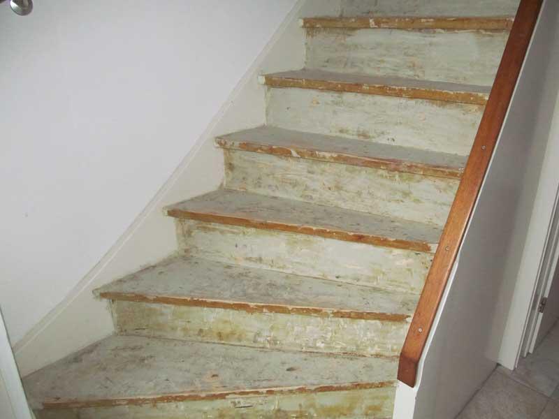 Trap Tapijt Verwijderen : Een schone trap maar